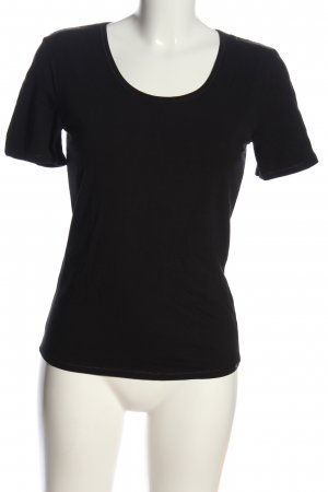 Schiesser T-Shirt black casual look