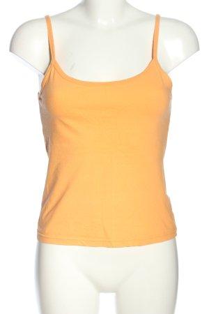 Schiesser Strappy Top light orange casual look
