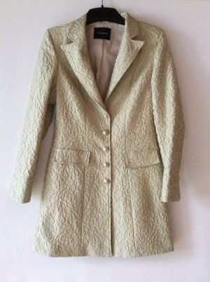 Schiffhauer Frock Coat gold-colored-pale green