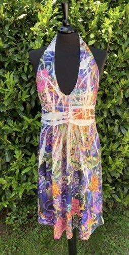 Schiffhauer Robe dos-nu multicolore