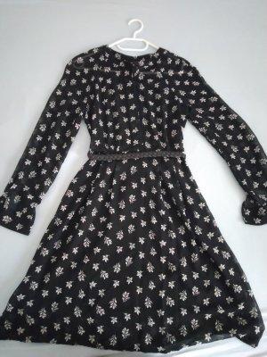 Schiffon Kleid mit Muster