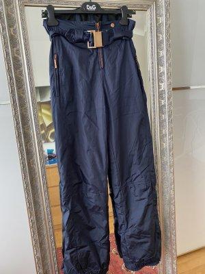 Lutha Snow Pants dark blue-bronze-colored
