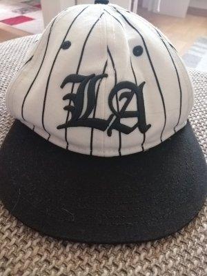 H&M Berretto da baseball bianco-nero