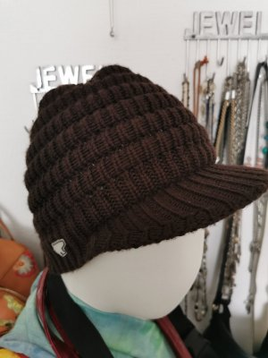 Eisbär Visor Cap brown