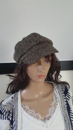 Hallhuber Chapeau en tissu multicolore laine