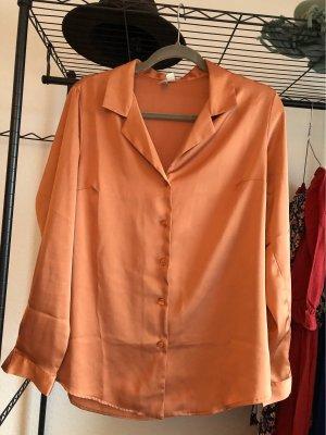 Asos Glanzende blouse veelkleurig