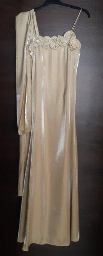 c&s Robe de soirée doré polyester