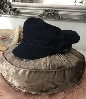 bpc bonprix collection Gorra de plato azul oscuro