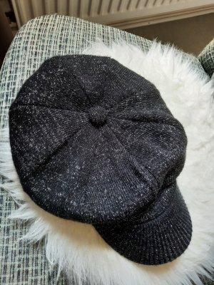 C&A Cappello con visiera nero-argento