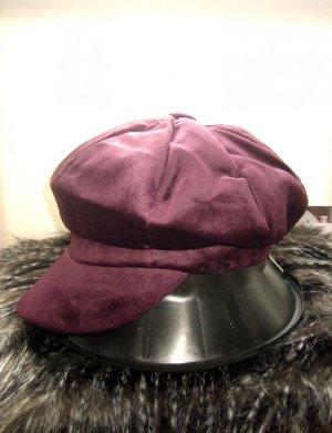 Cappello da panettiere rosso mora-viola Cotone