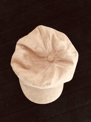 Schirmmütze Cognac Lederlook