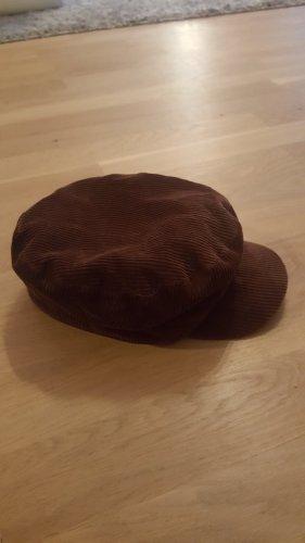 Clockhouse Cappello con visiera marrone scuro