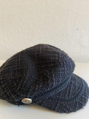 Schirmmütze in Chanel-Look Gr.56/57