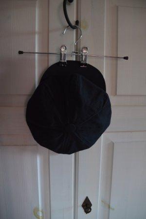Visor Cap black cotton