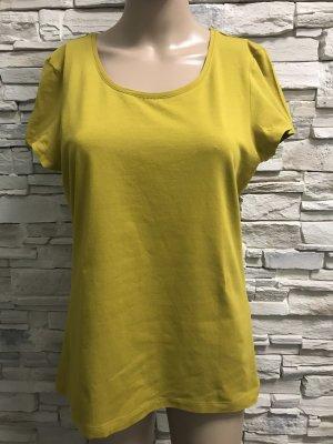 C&A Batik Shirt lime yellow