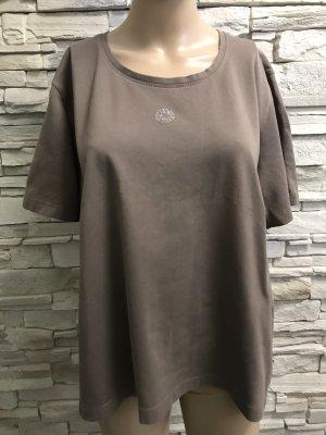 Pier Angelini Boatneck Shirt grey brown