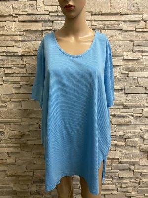 Ulla Popken Basic Shirt light blue