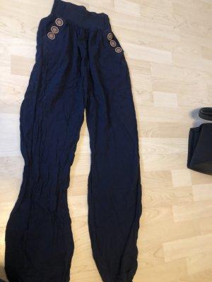 Pantalone alla turca blu scuro