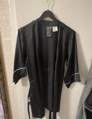 H&M Robe de nuit noir-blanc
