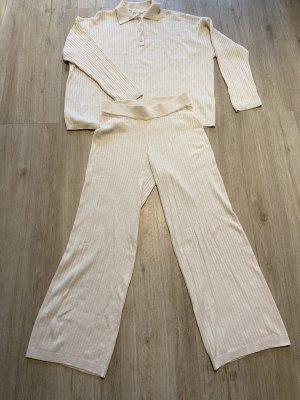 H&M Pijama crema