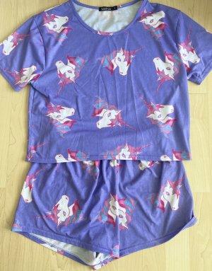 Boohoo Pyjama bleu violet