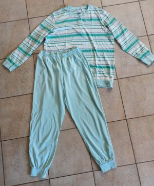 Wäschepur Pyjama turquoise-vert pâle