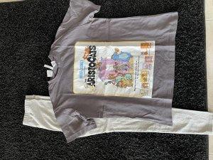 H&M Pyjama gris