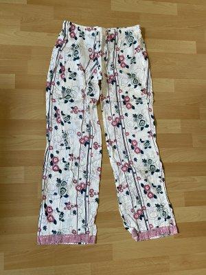 s.Oliver Pijama blanco puro-rosa empolvado