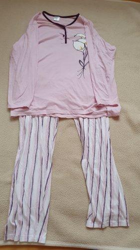 Pyjama lilas coton