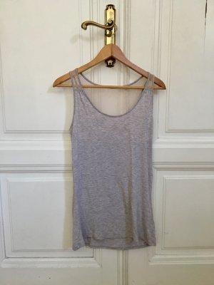 Schlafanzug | Pyjama sportlich mit Spitze grau weiß