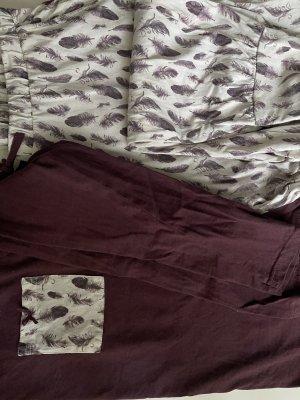 Esmara Twin Set tipo suéter white-blackberry-red