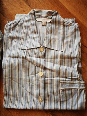TCM Camicia da notte bianco-blu
