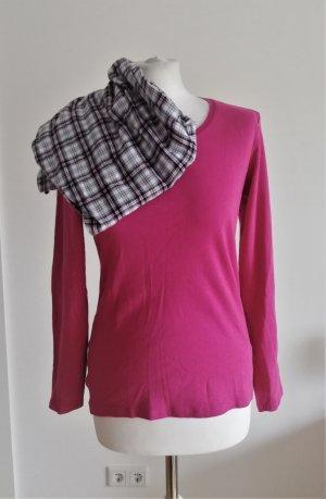 Schlafanzug Set in Pink-Karo