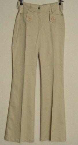 Y.O.U. Pantalon strech beige