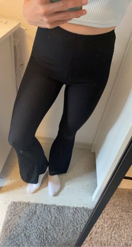 Bohoo Pantalon pattes d'éléphant noir