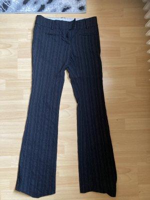 C&A Yessica Pantalón de campana negro-color plata