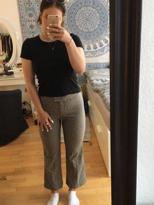 H&M Pantalone a zampa d'elefante grigio-marrone-grigio