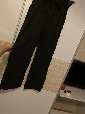 H&M Pantalón de campana negro