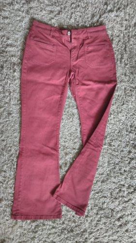 Pimkie Pantalon pattes d'éléphant rouge carmin