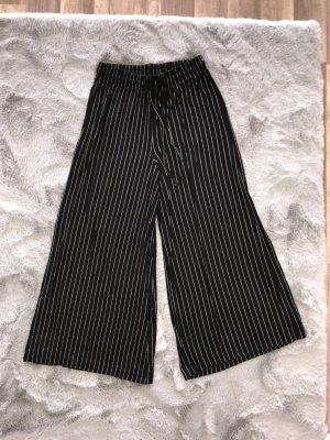 C&A High Waist Trousers black-white