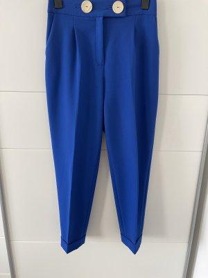 Schlaghose aus Zara in der Farbe Blau