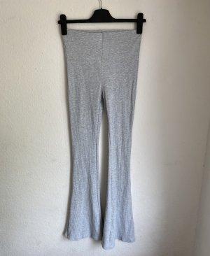 H&M Pantalone a zampa d'elefante grigio chiaro