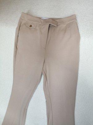 Reserved Pantalon pattes d'éléphant beige