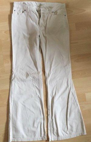 Schlaghose Gr. 40 Zara off-white