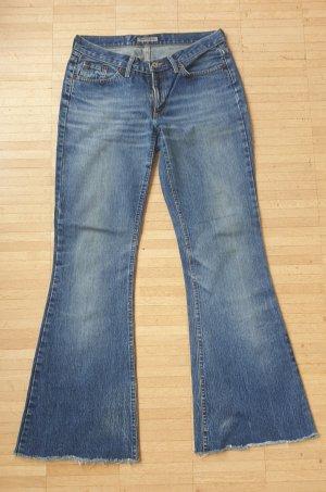Schlaghose / Hüfthose Jeans, Gr.S