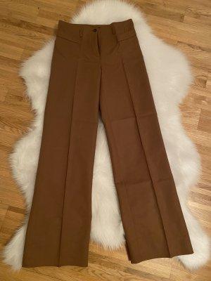 H&M Pantalon pattes d'éléphant chameau