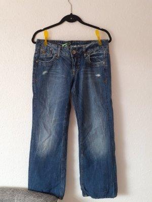 Esprit Pantalon pattes d'éléphant bleu-bleu foncé
