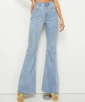 Schlaghose Jeans SHEIN