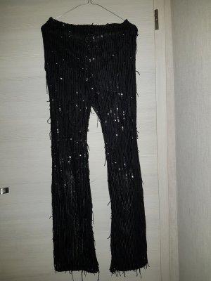 schlaghose schwarz