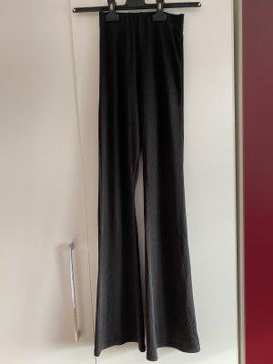 Subdued Pantalon pattes d'éléphant noir lycra